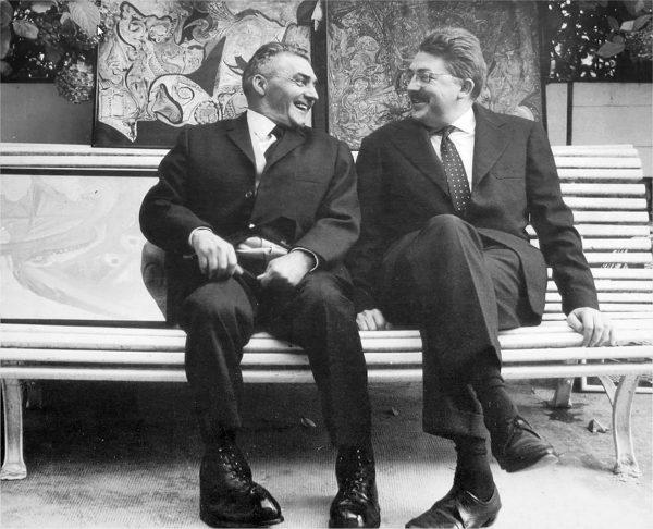 Emmanuel Deriennic et Pierre Maunoury